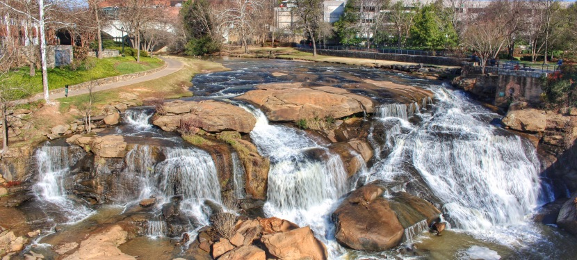 Reedy River Falls – FallsPark