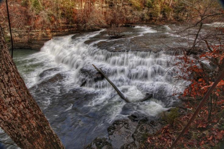Upper Falls - Falling Water River