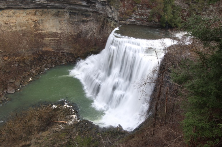 Burgess Falls - 136 ft