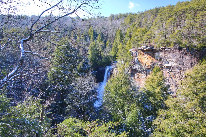 Piney Creek Falls - View from the overlook