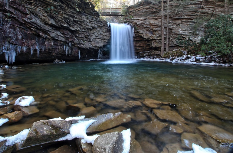 Upper Little Stony Falls & Pool