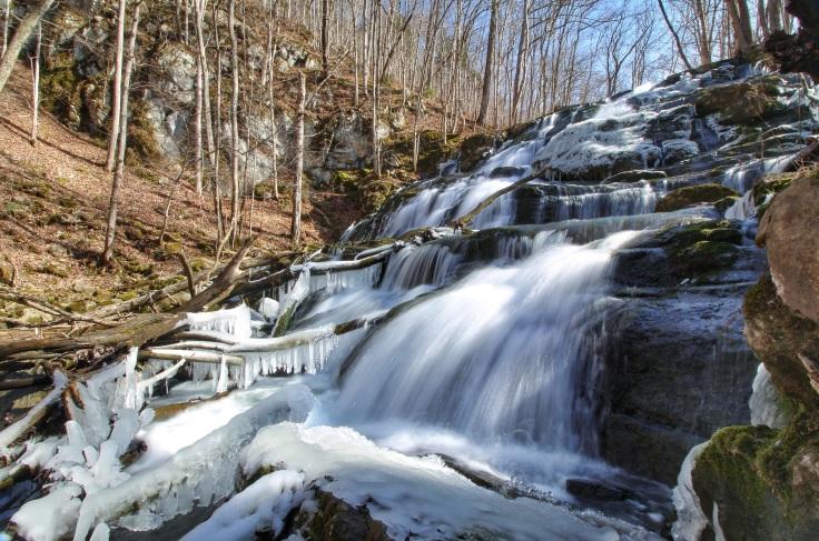 Waterfall on Logan Creek