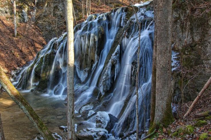 Cobweb Falls -Side View