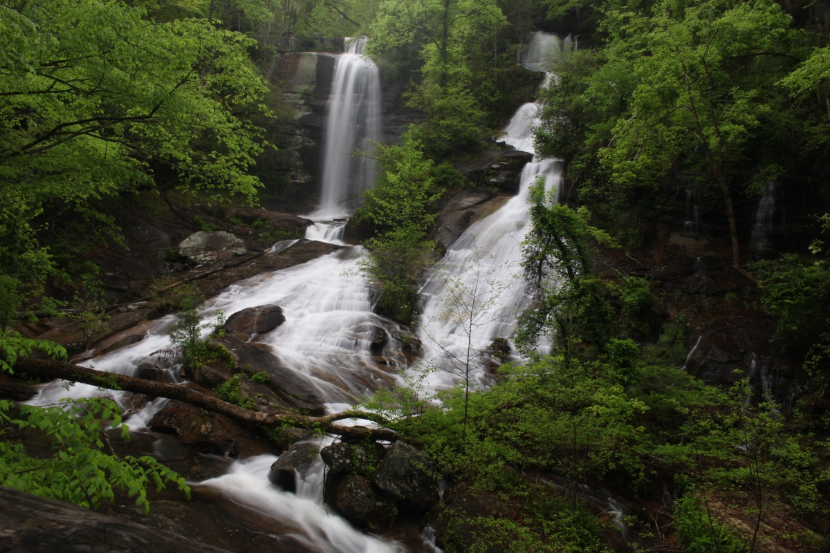 Twin Falls, South Carolina in the Spring