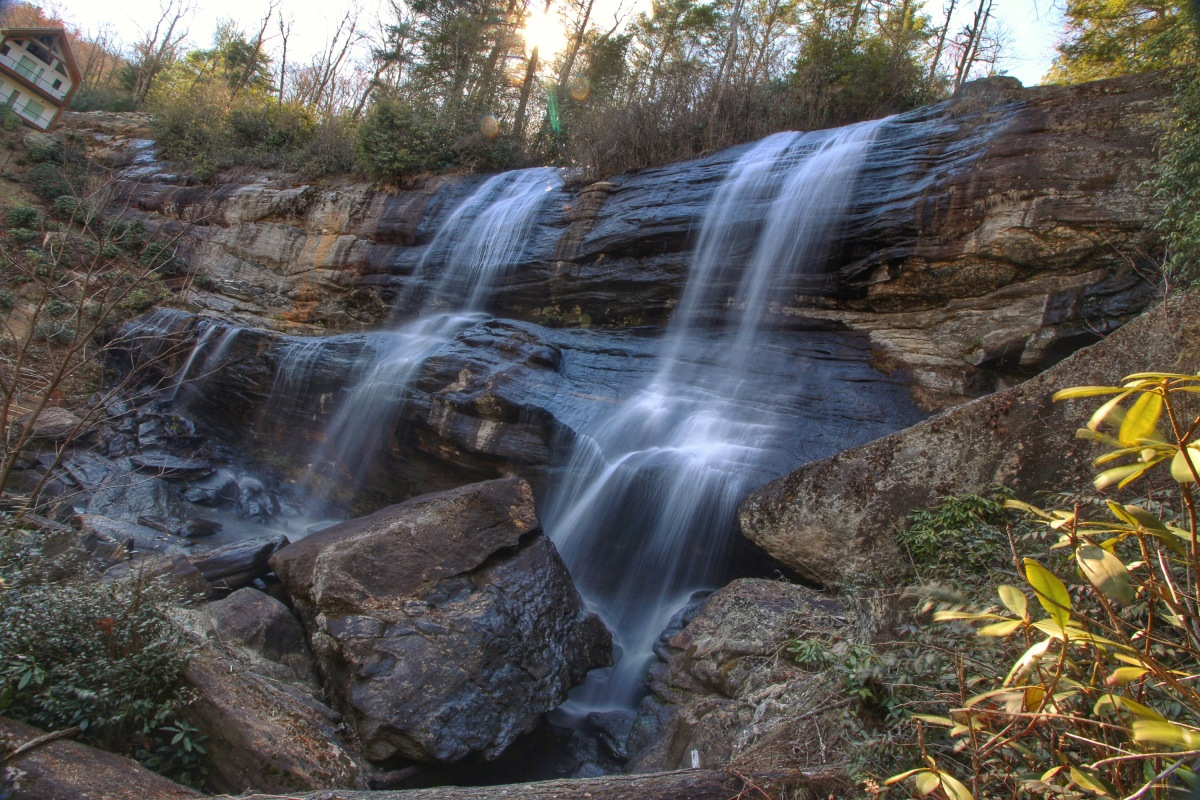 Twin Falls on the Thompson…..and a SlipperyWitch
