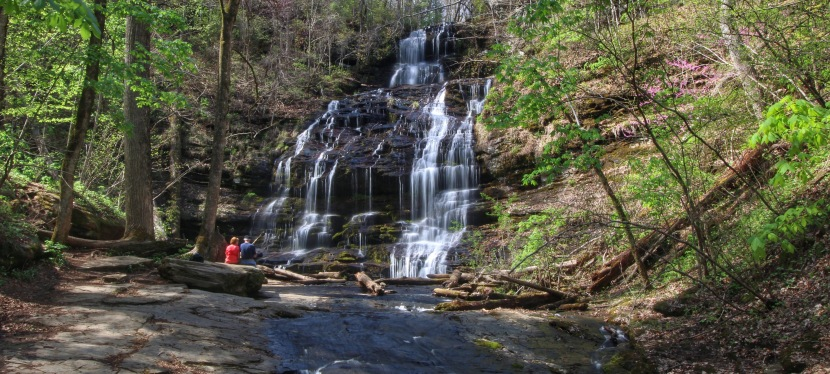 Station Cove Falls – Nice Historic Area, Nice Waterfall 4/3/15