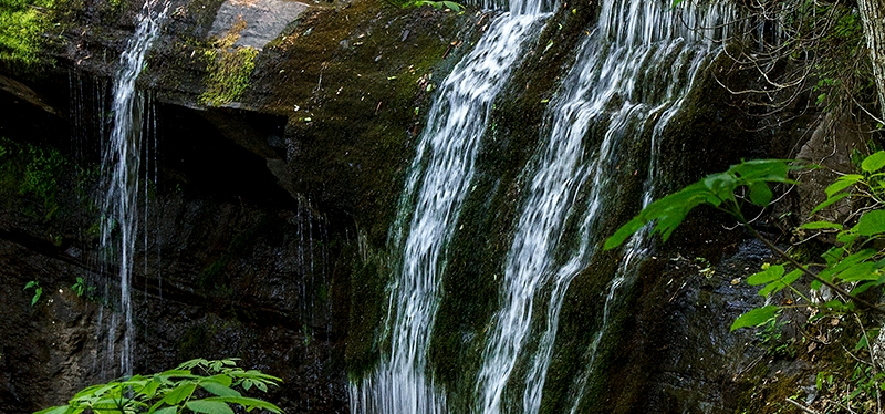 Hiking Trails: GRASSY CREEK FALLS, Little Switzerland