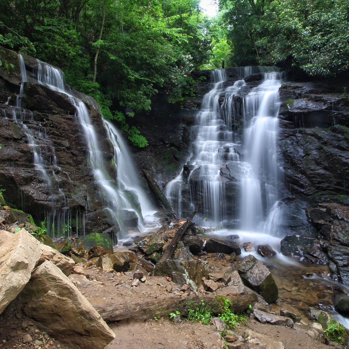 Soco Falls June 2015 – Some Improvements