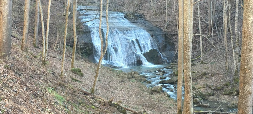 Waterfall on Garrett Creek