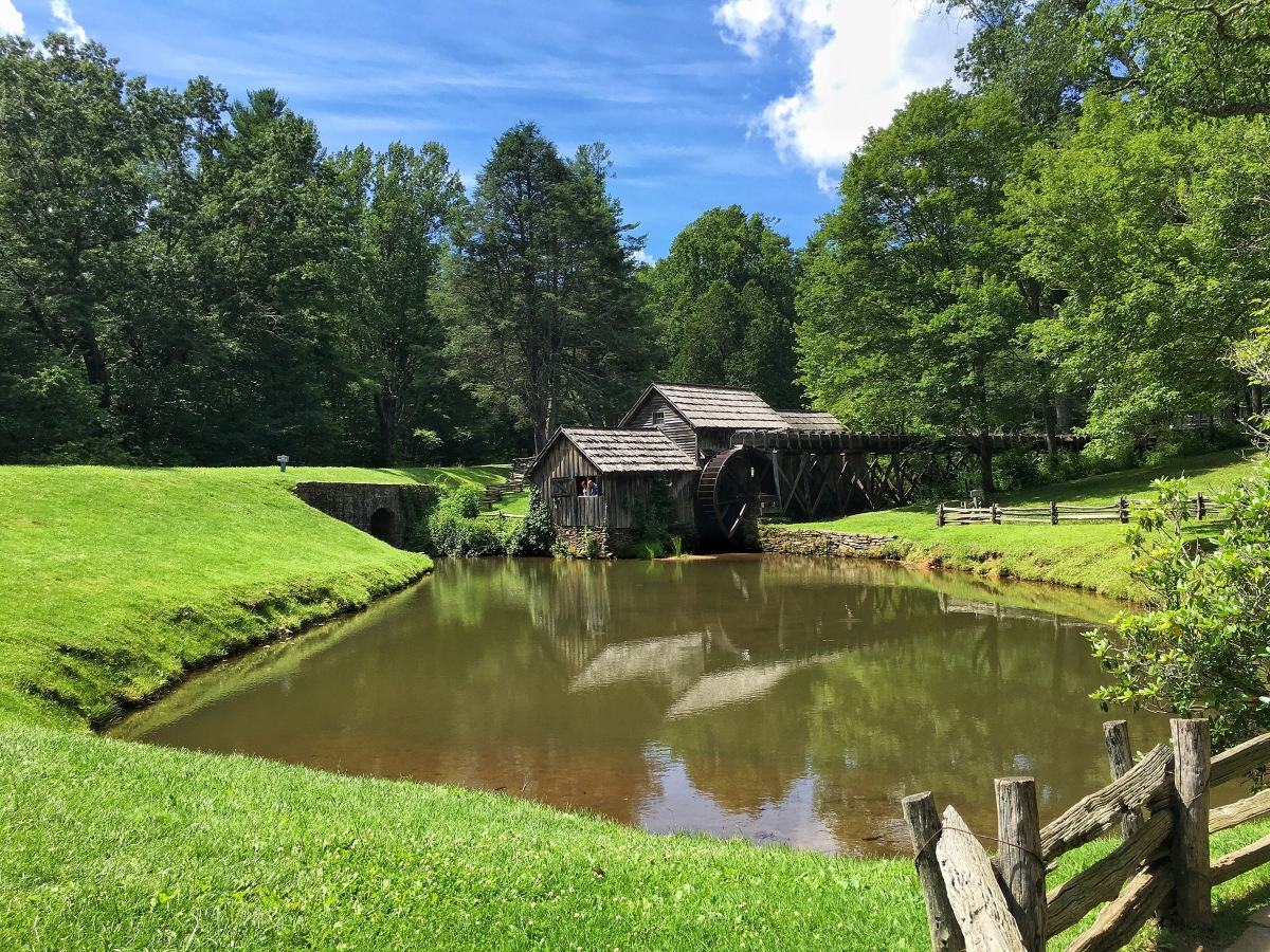 Mabry Mill On A Summer Day