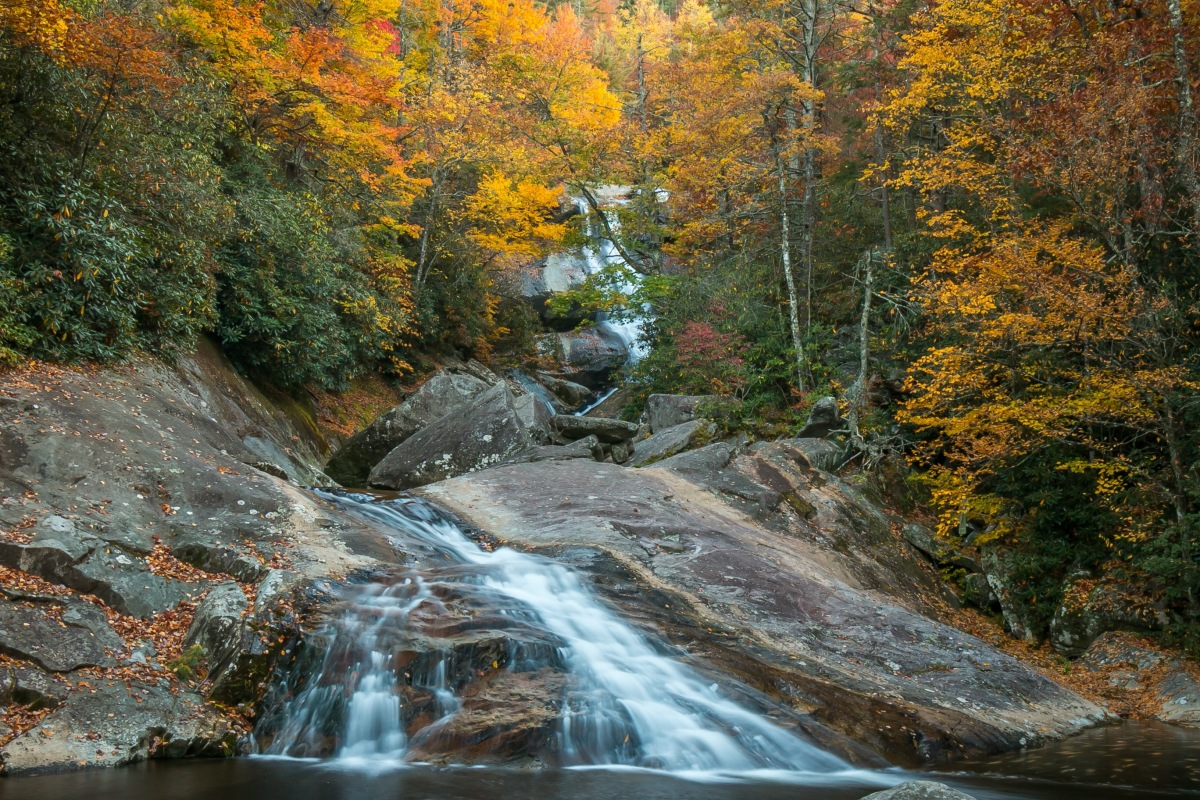 Upper Creek Falls – 2016's Best Autumn Waterfall