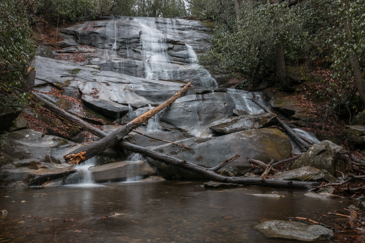 Cove Creek Falls & The Surprisingly Beautiful Set of Cascades Along The Way